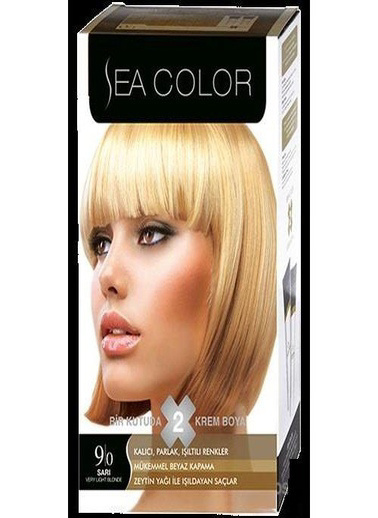 Sea Sea Color 2 Li Saç Boyası 9-0 Sarı